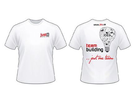 JUST IT Solutions s.r.o. - team buildig - grafický návrh